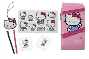 Hello Kitty 7 in 1 Accessory Kit 3DS,DSi,DSL
