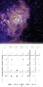 Nebulae in space (Wall Calendar 2015 300 × 300 mm Square)