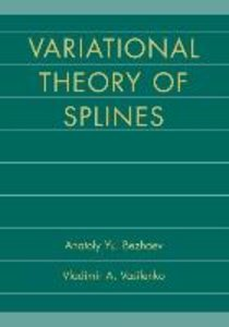 Variational Theory of Splines