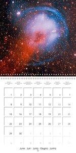 Nebulae in space (Wall Calendar 2015 300 × 300 mm Square)