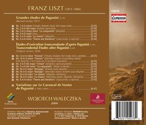 Grand Etudes de Paganini/+