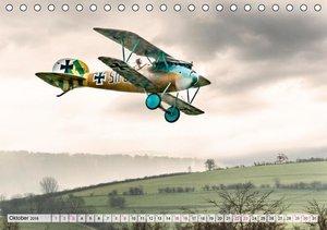 Modellflugzeuge in ACTION (Tischkalender 2016 DIN A5 quer)