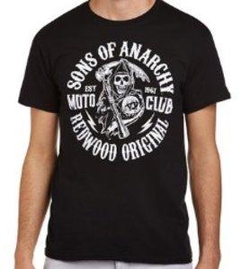 Sons of Anarchy - Moto Club - T-Shirt - Schwarz - Größe M