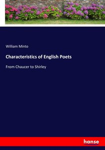 Characteristics of English Poets