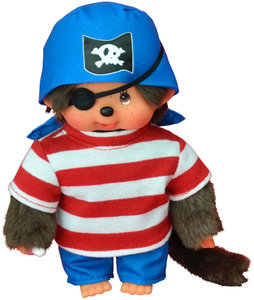 Monchhichi Pirate Boy, ca. 20 cm