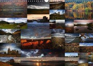 Schottland 365 (Wandkalender 2016 DIN A3 quer)