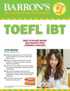 Barron's TOEFL iBTwith MP3 Audio-CD