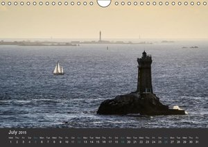Brittany - Land of the sea - UK-Version (Wall Calendar 2015 DIN