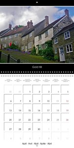 Great England 2015 (Wall Calendar 2015 300 × 300 mm Square)