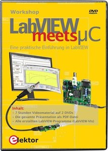 Workshop-DVD 'LabVIEW meets µC'