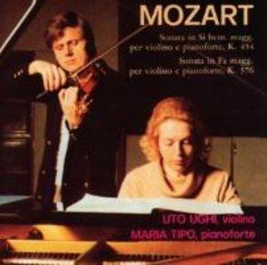 Mozart: Sonaten für Klavier und Violine KV 454+376