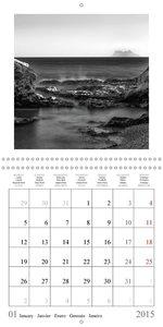 Costa del Sol Impressions in B&W (Wall Calendar 2015 300 × 300 m