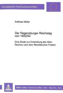 Der Regensburger Reichstag von 1653/54