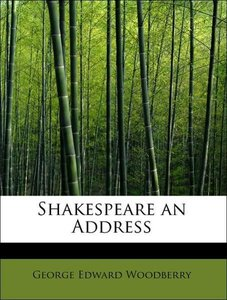 Shakespeare an Address