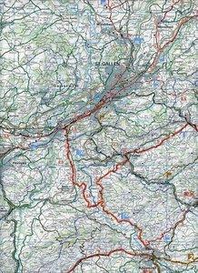 KuF Schweiz Radkarte 07 Sankt Gallen - Appenzell - Toggenburg 1