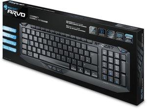 ROCCAT Arvo Compact - Gaming Tastatur (DE-Layout)