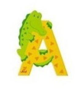 Sevi 81601 - Buchstabe: Alligator, A