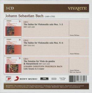 Suiten für Violoncello/Sonaten für Gamba+Cembalo