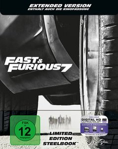 Fast & Furious 7 (Steelbook / Limited Edition)