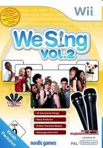 We Sing - Vol. 2 (inkl. 2 Mikrofone)