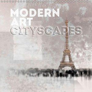 Modern Art Cityscapes (Wall Calendar 2015 300 × 300 mm Square)