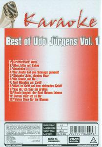 Best Of Udo Jürgens Vol.1-Karaoke DVD