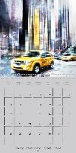 Modern Art Cityscapes (Wall Calendar 2015 300 × 300 mm Square)