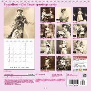 Eggcellent - Old Easter greetings cards (Wall Calendar 2015 300