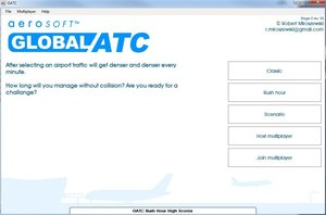 Flugsicherungs-ATC Simulator - Global Air Trafic Control