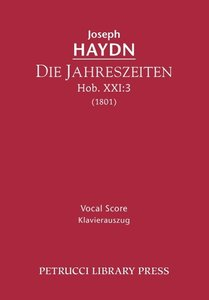Die Jahreszeiten, Hob. XXI: 3 - Vocal Score