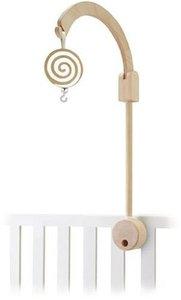Sevi 81722 - Mobile Halter für Kinderbett, Holz Bogen, inkl. Spi