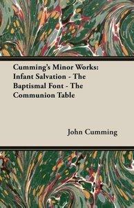Cumming's Minor Works