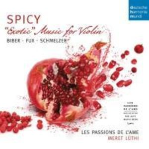 Spicy-Exotic Music for Violin