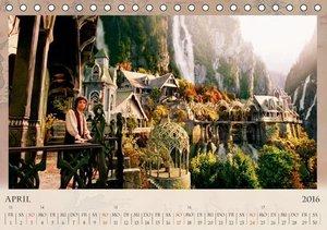 Der Herr der Ringe - Elben (Tischkalender 2016 DIN A5 quer)