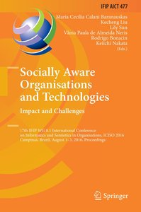 Socially Aware Organisations and Technologies. Impact and Challe