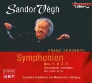 Vegh, S: Sinfonien 5,6,8+9