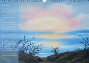 Faszination Malerei (Wandkalender immerwährend DIN A3 quer)