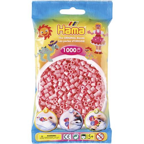 Hama 207-06 - Perlen hellrosa, 1000 Stück - zum Schließen ins Bild klicken