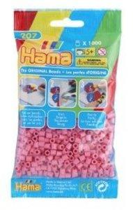 Hama 207-06 - Perlen hellrosa, 1000 Stück