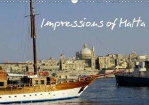Impressions of Malta (Wall Calendar 2015 DIN A3 Landscape)