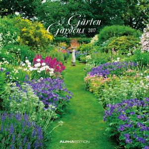 Gärten 2017 Broschürenkalender