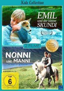 Kids Collection - Emil und der kleine Skundi + Nonni und Manni