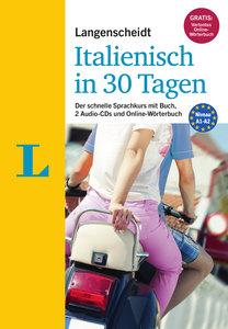 Langenscheidt Italienisch in 30 Tagen - Set mit Buch und 2 Audio