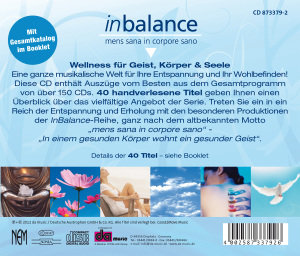 Inbalance-Wellness Für Geist,Körper & Seele