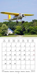 Dreams of Antique Airfield 2015 (Wall Calendar 2015 300 &times 3