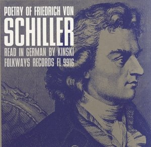 Poetry of Friedrich von Schiller:Read in German by