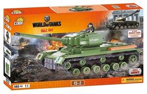 COBI 3015 - Panzer IS-2, World of Tanks, grün