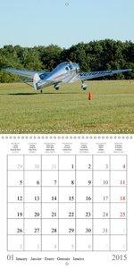 Dreams of Antique Airfield 2015 (Wall Calendar 2015 300 &times 3