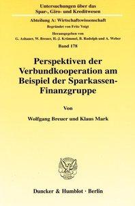Perspektiven der Verbundkooperation am Beispiel der Sparkassen-F