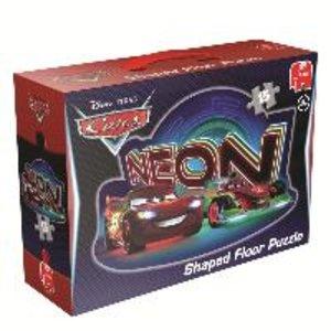 Disney Cars Neon - Großes Bodenpuzzle